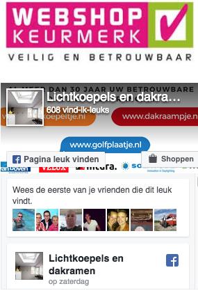 Golfplaten op facebook van golfplaatje.nl